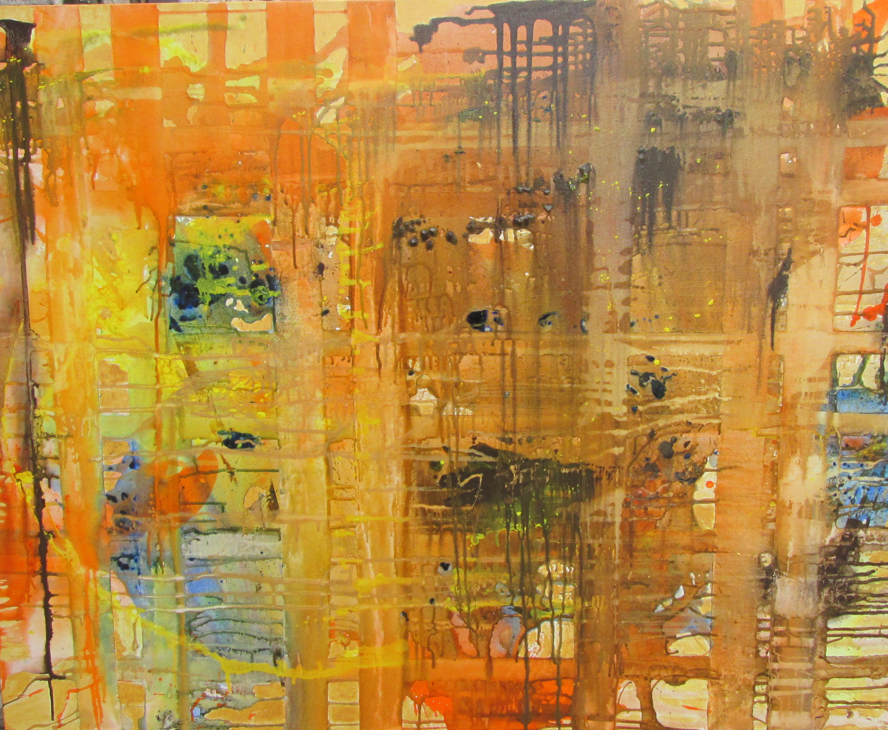 Joan Prime 'Abstract in Yellow' - entrant 2014