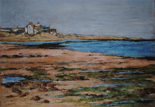 Boulmer at low tide